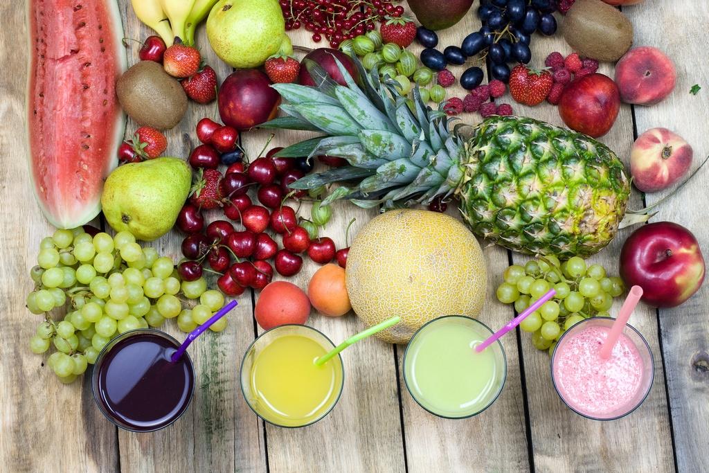 soki ze wieych owocw